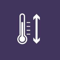 Широк температурен диапазон