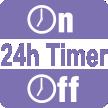 Автоматично включване и изключване за период от 24 часа